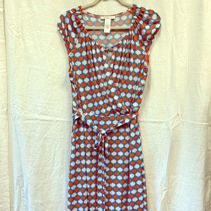 LAUNDRY funky wrap dress